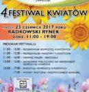 4. Festiwal Kwiatów już 23 czerwca! ZAPRASZAMY!