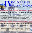 IV Sudeckie Dni Muzyki Chóralnej już wkrótce!