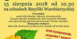 5. Festiwal Kwiatów – regulamin
