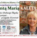 Tajemnice Dolnego Śląska z Jolantą Marią Kaletą. ZAPRASZAMY!