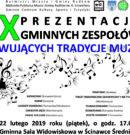 X Prezentacje Zespołów Muzycznych – przyjdź i posłuchaj! ZAPRASZAMY