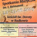 Nowa odsłona koncertów wambierzyckich. ZAPRASZAMY!!!