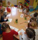 Jesienne zajęcia u przedszkolaków w Tłumaczowie