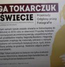 """Wystawa """"Olga Tokarczuk na świecie"""" w Bibliotece Publicznej w Radkowie"""