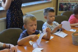 BPMiG w Radkowie przedszkolaki Elmer sierpien14