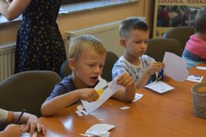 BPMiG w Radkowie przedszkolaki Elmer sierpien16