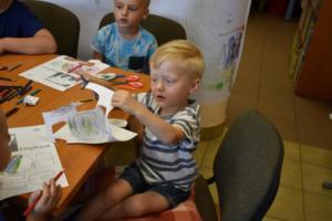 BPMiG w Radkowie przedszkolaki Elmer sierpien18