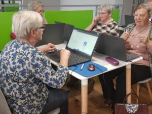 BPMiG w Radkowie kurs komputerowy seniorzy Wambierzyce15