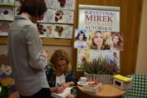 BPMiG w Radkowie spotkanie autoorskie Krystyna Mirek49