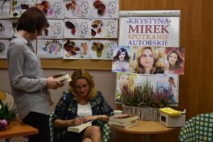 BPMiG w Radkowie spotkanie autoorskie Krystyna Mirek50