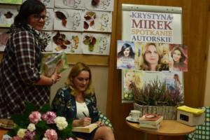BPMiG w Radkowie spotkanie autoorskie Krystyna Mirek55