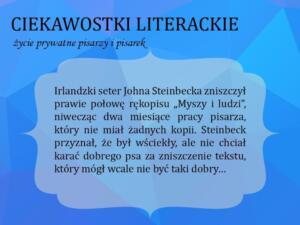 BPMiG Radkow ciekawostki literackie10
