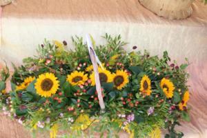 BPMiG Radkow 5 festiwal kwiatow przyjmowanie i ekspozycja kompozycji 13