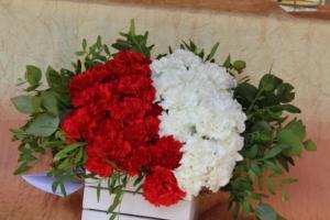 BPMiG Radkow 5 festiwal kwiatow przyjmowanie i ekspozycja kompozycji 14