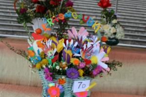 BPMiG Radkow 5 festiwal kwiatow przyjmowanie i ekspozycja kompozycji 17