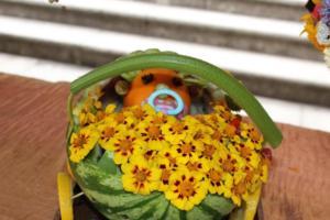 BPMiG Radkow 5 festiwal kwiatow przyjmowanie i ekspozycja kompozycji 22