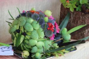 BPMiG Radkow 5 festiwal kwiatow przyjmowanie i ekspozycja kompozycji 23