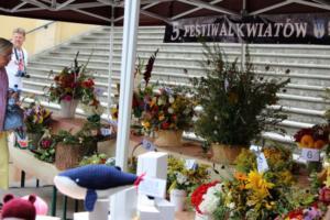 BPMiG Radkow 5 festiwal kwiatow przyjmowanie i ekspozycja kompozycji 24