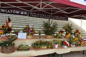 BPMiG Radkow 5 festiwal kwiatow przyjmowanie i ekspozycja kompozycji 34