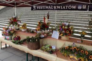 BPMiG Radkow 5 festiwal kwiatow przyjmowanie i ekspozycja kompozycji 35