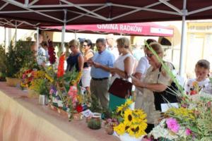 BPMiG Radkow 5 festiwal kwiatow przyjmowanie i ekspozycja kompozycji 43