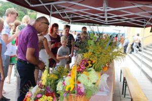 BPMiG Radkow 5 festiwal kwiatow przyjmowanie i ekspozycja kompozycji 44