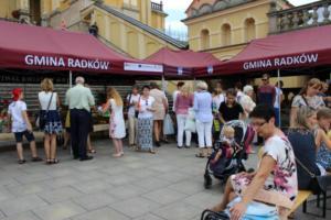 BPMiG Radkow 5 festiwal kwiatow przyjmowanie i ekspozycja kompozycji 46