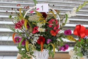BPMiG Radkow 5 festiwal kwiatow przyjmowanie i ekspozycja kompozycji 47
