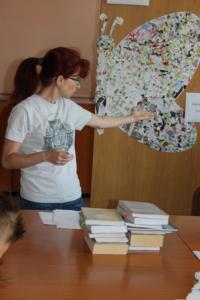 BPMiG Radkow dlonaslascy pisarze lekcja biblioteczna Radkow 10