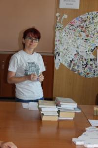 BPMiG Radkow dlonaslascy pisarze lekcja biblioteczna Radkow 11