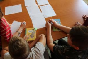 BPMiG Radkow dlonaslascy pisarze lekcja biblioteczna Radkow 30