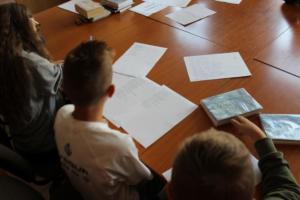 BPMiG Radkow dlonaslascy pisarze lekcja biblioteczna Radkow 33