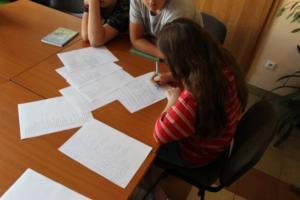 BPMiG Radkow dlonaslascy pisarze lekcja biblioteczna Radkow 35