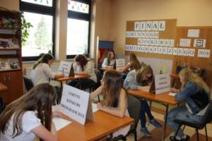 BPMiG Radkow final Gminnego Konkursu Ortograficznego 2018 Radkow 10