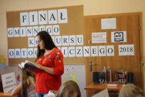 BPMiG Radkow final Gminnego Konkursu Ortograficznego 2018 Radkow 15