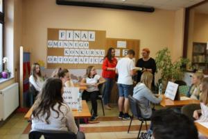 BPMiG Radkow final Gminnego Konkursu Ortograficznego 2018 Radkow 23