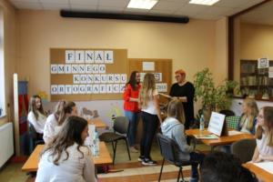 BPMiG Radkow final Gminnego Konkursu Ortograficznego 2018 Radkow 26