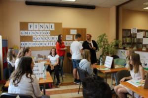 BPMiG Radkow final Gminnego Konkursu Ortograficznego 2018 Radkow 33