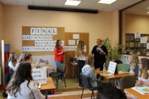 BPMiG Radkow final Gminnego Konkursu Ortograficznego 2018 Radkow 34