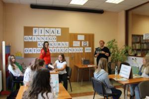 BPMiG Radkow final Gminnego Konkursu Ortograficznego 2018 Radkow 36
