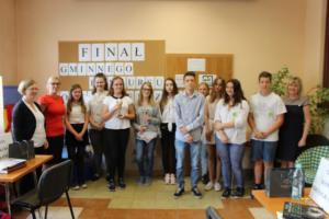 BPMiG Radkow final Gminnego Konkursu Ortograficznego 2018 Radkow 43
