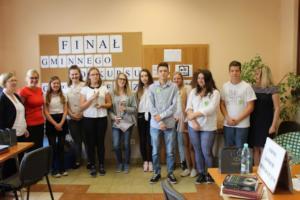 BPMiG Radkow final Gminnego Konkursu Ortograficznego 2018 Radkow 45
