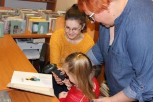 BPMiG Radkow przedszkolaki Misie lekcja biblioteczna 2