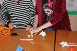 BPMiG Radkow popoludnia w bibliotece origami 12