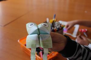 BPMiG Radkow popoludnia w bibliotece origami 14