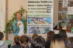 BPMiG Radkow Spotkanie autorskie Ewa Nowak Radkow 13