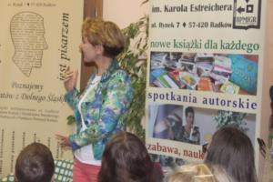 BPMiG Radkow Spotkanie autorskie Ewa Nowak Radkow 14