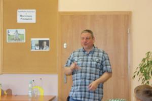 BPMiG Radkow Marcin Palasz spotkanie autorskie Radkow 06