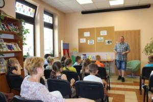 BPMiG Radkow Marcin Palasz spotkanie autorskie Radkow 07