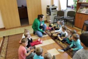 BPMiG Radkow zajecia muzyczne przeszkolaki Radkow Pingwinki 20